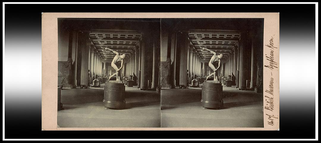Roger Fenton's 1850's British MuseumStereoviews