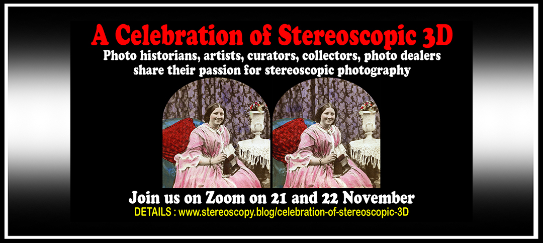 A Celebration of Stereoscopic 3D: New Online Event