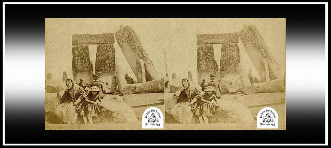Oldest Family Photograph of Stonehenge, Found in the Collection of Dr. Brian May, to go on Public Display…in 3-D!
